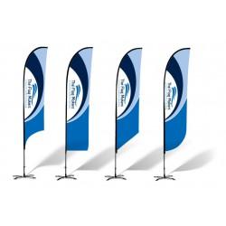 Reklaminės vėliavos...